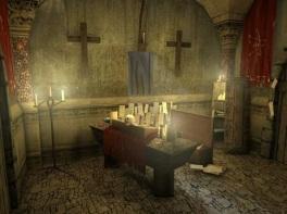 Un altar extraño
